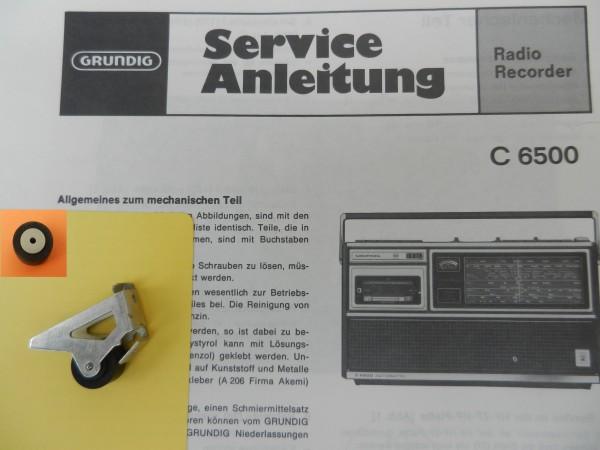 Tonrolle für C6500 C 6500 Automatik von GRUNDIG