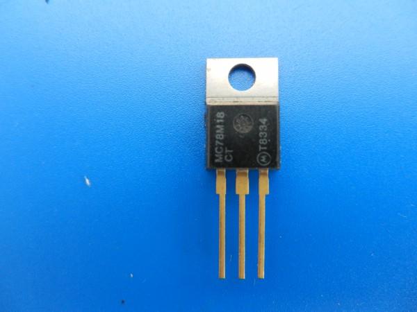 uA78M18 - 18V Stabi IC für GRUNDIG z.B. MCF, CF , SCF 6200...