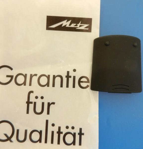 Batteriefachdeckel für RM 14 M alu / mattschwarz METZ