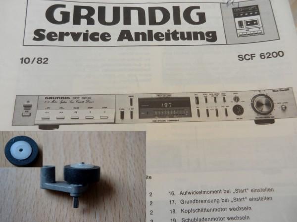 Tonrolle für SCF 6200 6100 6000 GRUNDIG