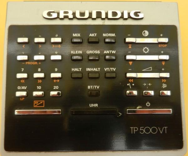 TP 500 TT GRUNDIG Original Fernbedienung - gebraucht