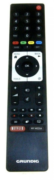 TS3 NETFLIX LCD Fernbedienung GRUNDIG für TV Geräte