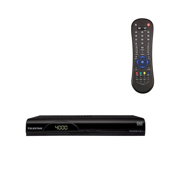 Telestar Teledigi 4 s+ digitaler Satelliten-Receiver