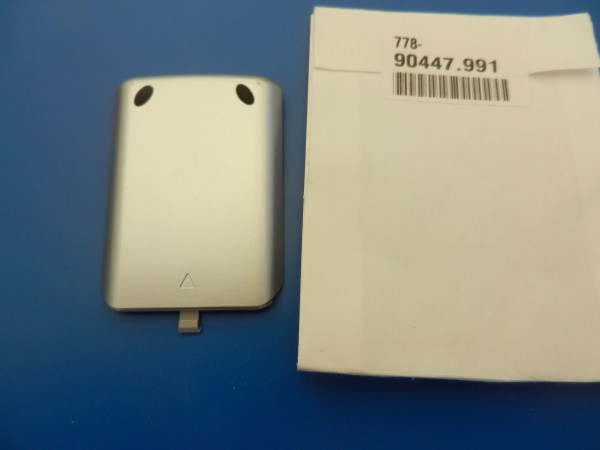 Batteriedeckel für Assist 1 in alu-silber LOEWE Fernbedienung