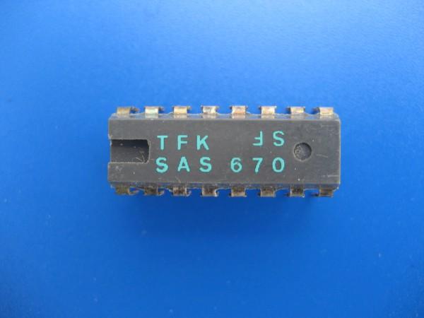 SAS 670 Sensor IC für GRUNDIG Hifi Anlagen