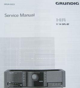 Service Manual - V 14 DPL Verstärker