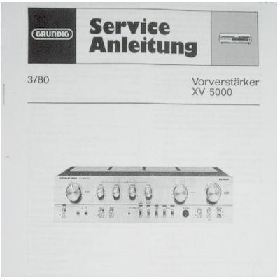 Service Manual - XV 5000 100mm Vorverstärker