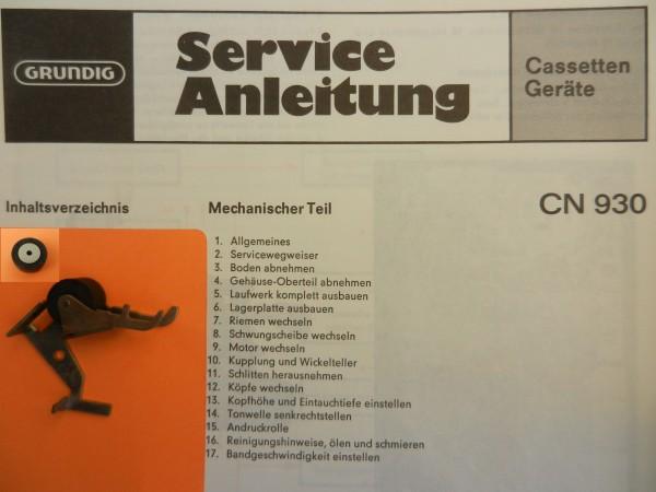 Tonrolle für CN930 CN 930 von GRUNDIG
