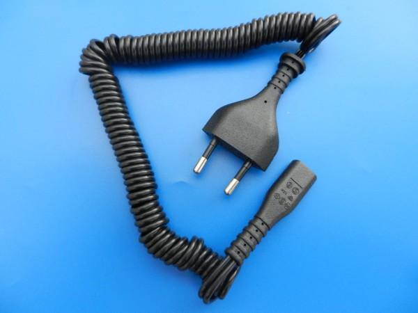 Rasierer Anschluß - Kabel für 220 Volt