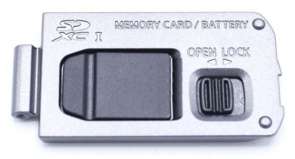 Batteriedeckel für LUMIX DMC TZ90 TZ96 in weiss Panasonic Digital Kamera