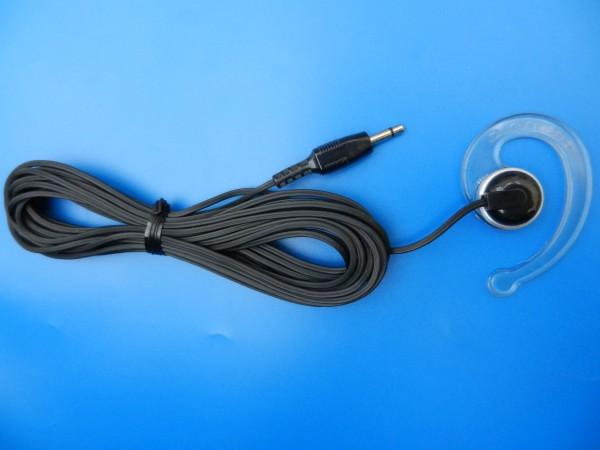 Ohrclips für GRUNDIG Diktiergeräte mit 3,5mm Klinkenanschlußkabel