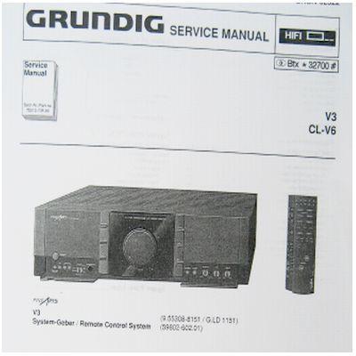 Service Manual - V 3 Verstärker