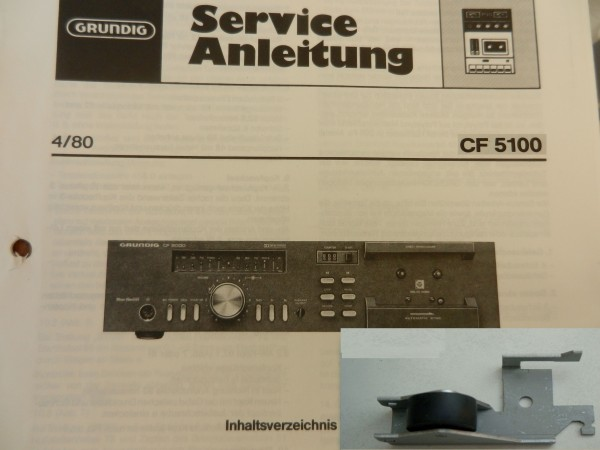 Tonrollenhebel für CF 5100 CF5100 GRUNDIG