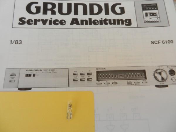 Lämpchen für Tape SCF 6100 GRUNDIG