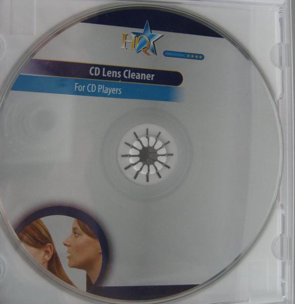Reinigungs DVD auch für CD Player