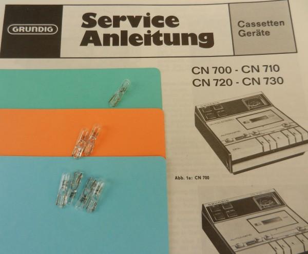 Lämpchen für Tape CN730 CN720 GRUNDIG SET