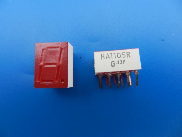HA 1105R 7-Segment LED Anzeige für Hifi - Cassettendecks von GRUNDIG