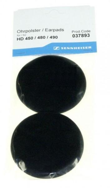 Ohrpolster Original für HD 450, 480, 490 Sennheiser Kopfhörer
