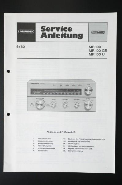 Service Manual - MR100 mini Hifi Receiver
