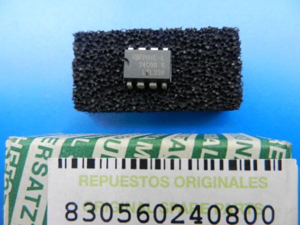 24C08 EProm IC für GRUNDIG TV / Video Geräte