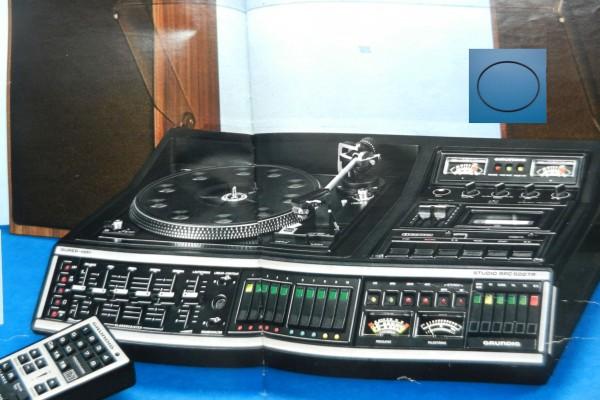 RPC600 TP Studio Hifi Antriebsriemen GRUNDIG