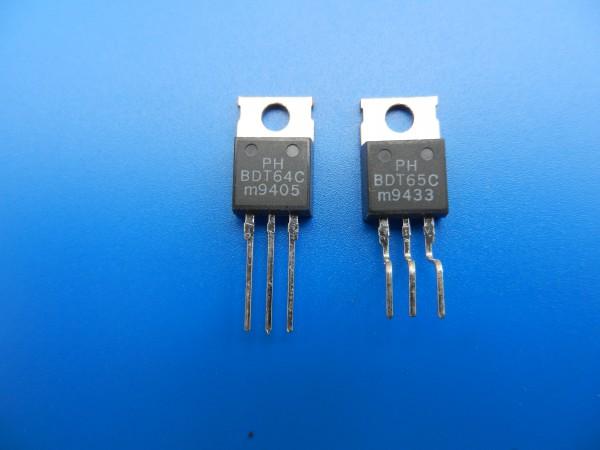 BDT 64C / BDT 65C Endstufen Transistoren