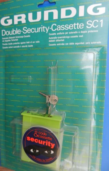 SC1-Double Security Cassette -NEU-