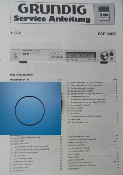 SCF 6000 SCF 6100 Zählwerk Riemen GRUNDIG