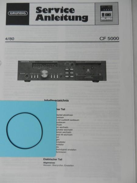 CF 5000 / CF5000 GRUNDIG Zählwerk Riemen