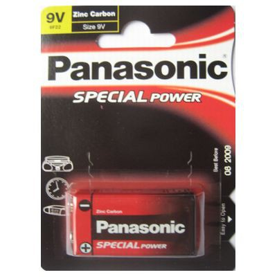 9V Batterie - SPECIAL POWER 6F22