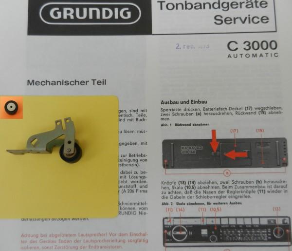 Tonrolle für C3000 C 3000 von GRUNDIG