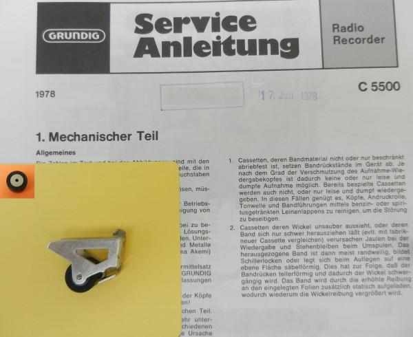 Tonrolle für C5500 C 5500 Automatik von GRUNDIG