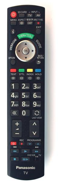 Panasonic N2QAYB000489 LCD Fernbedienung