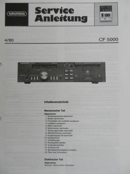 Service Manual - CF5000 Hifi Cassettendeck