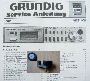 Tonrolle für MCF 400 GRUNDIG