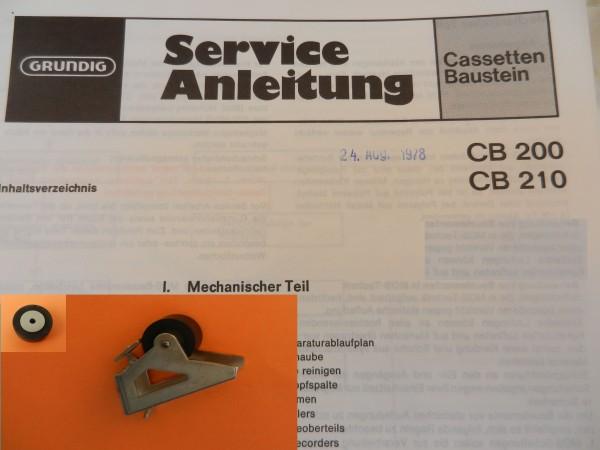 Tonrolle für CB200 CB210 Cassettendeck für Studio, RPC von GRUNDIG