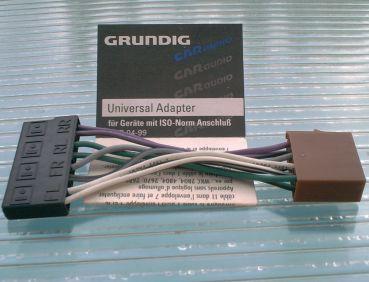 Universal Lautsprecher Adapter mit ISO-Norm Anschluß von GRUNDIG