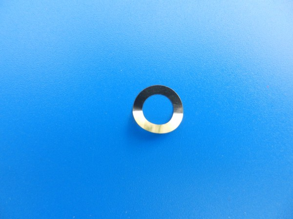 Kopfrad-Scheibe 10mm D mit 6mm Loch und 0,01mm stark für Video 2x4 Super.. für GRUNDIG Videorecorder