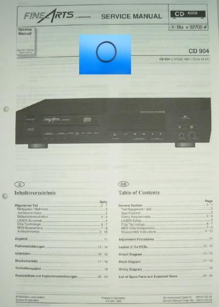 CD903 Schubladenriemen GRUNDIG Fine Arts