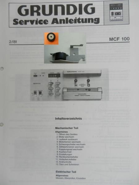 Tonrolle für MCF 100 MCF 200 GRUNDIG