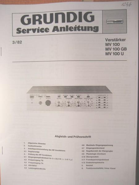 Service Manual - MV100 Mini Verstärker