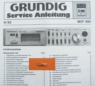 Lämpchen für Tape MCF 400 GRUNDIG