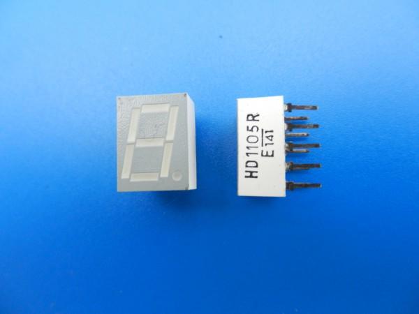 HD 1105R 7-Segment LED Anzeige für Hifi - Cassettendecks von GRUNDIG