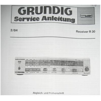 Service Manual - R 30 Hifi Midi Receiver