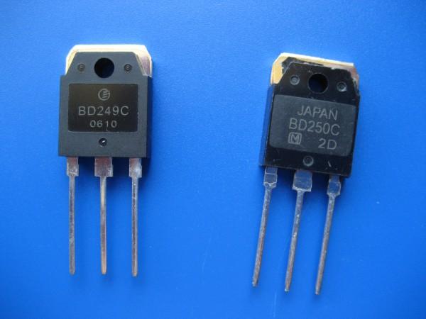 BD 745 / 249 und BD 746 / 250 Endstufen Transistoren