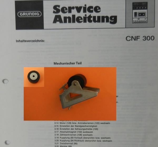 Tonrolle für CNF300 CNF 300 Cassettenfrontlader von GRUNDIG