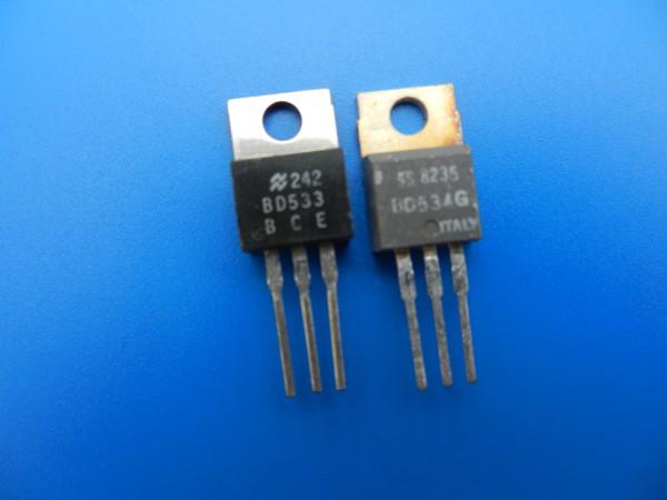 BD 533 / BD 534 Endstufen Transitoren z.B. für SATELLIT 600 / 650