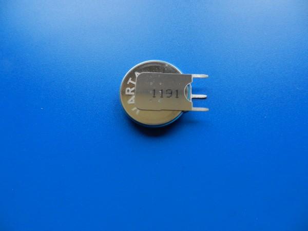 3V Stütz Batterie für GRUNDIG HIfi Tuner, Receiver ...