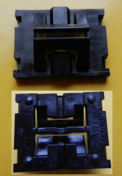 Schiebereglerknopf Unterteil für Grundig Tonbandgeräte TK / TS-Copy