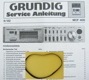 MCF400 Grundig Capstan Riemen